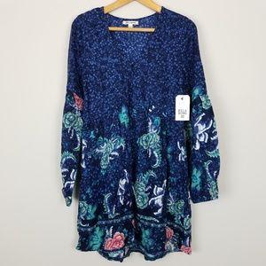 Billabong Paisley Babydoll Dress Small A0517